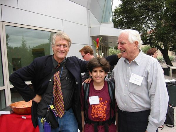 Photo 08_Ted Nelson, Aaron Swartz and Doug Engelbart