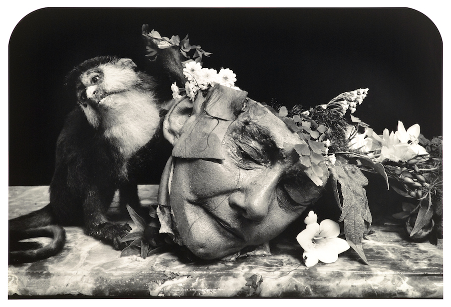 JOEL-PETER WITKIN, FACE OF A WOMAN, 2004, Gelatin Silver Print, 26 3/4 x 36 3/4 inches