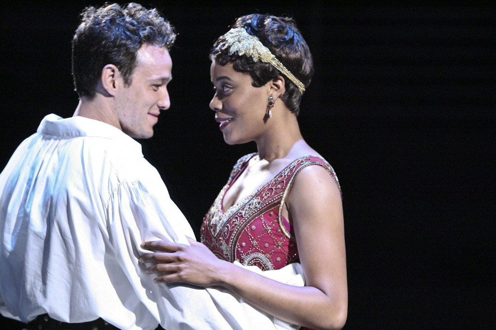 Jack Mikesell and Chritina Elmore in Romeo and Juliet