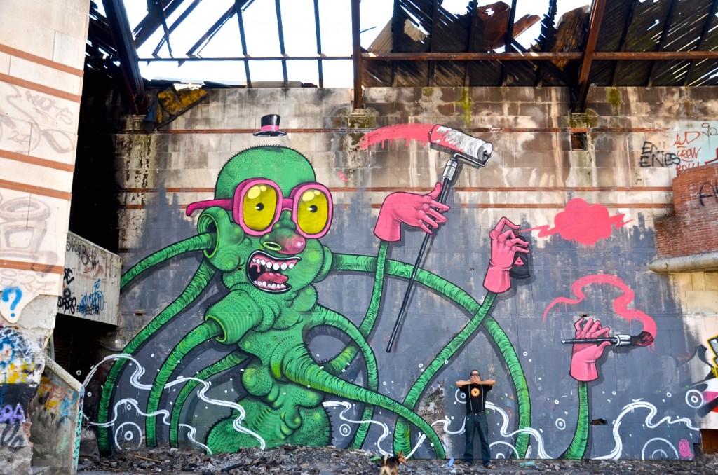 Monster Artist Attack, Fonte Nuova, Italy, 2012