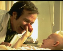 Robin Williams as Patch Adams