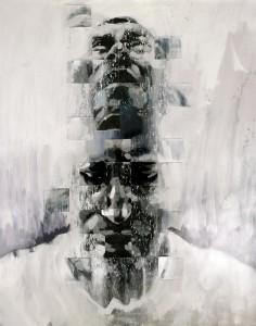 Grimshaw work of oil on canvas.