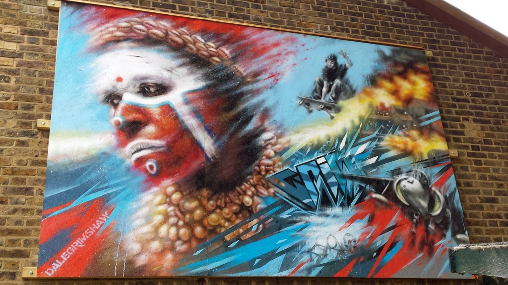Harlequin, Tottenham London.