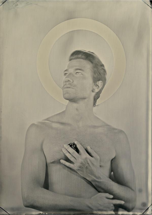 """Tintype, """"Saint Luke"""""""