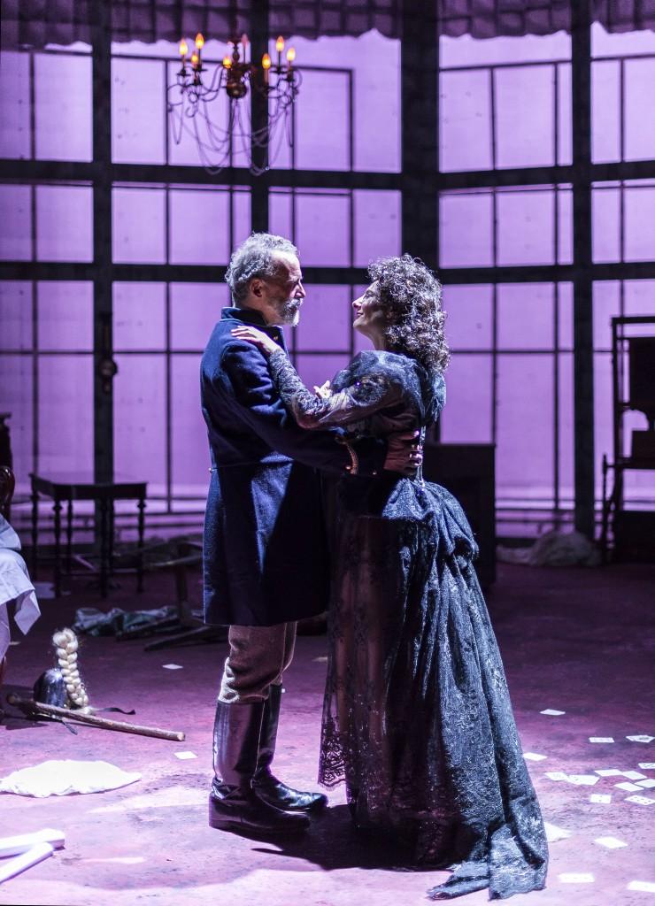 Geoff Elliott & Susan Angelo in Dance of Death. Photo by Craig Schwartz