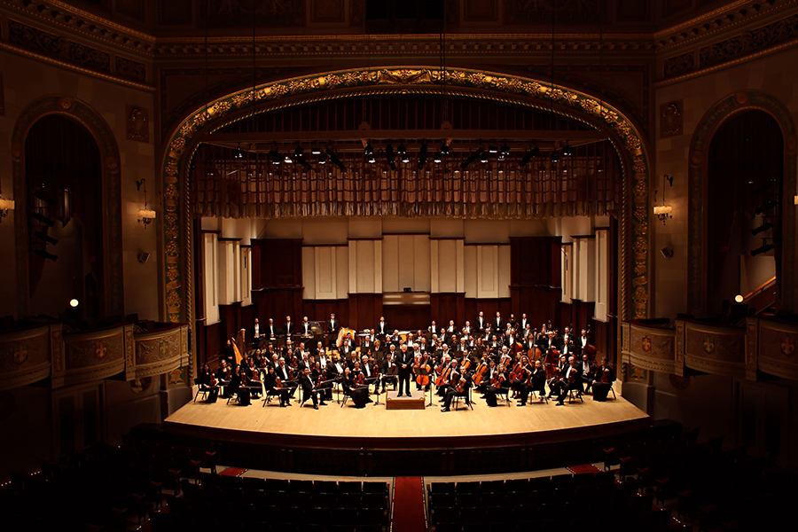 Slatkin and the entire Detroit Symphony Orchestra. Photo: Cybelle Codish
