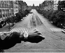Prague, Negative 1966,  Print 1990. Image courtesy of and © Josef Koudelka/Magnum Photos