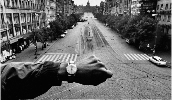 Prague, Negative 1966,  Print 1990. Image courtesy of and © Josef Koudelka/Magnum Photos
