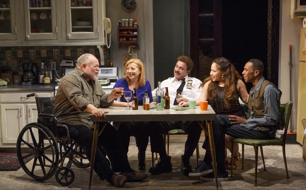 The cast of Between Riverside and Crazy Credit: Carol Rosegg