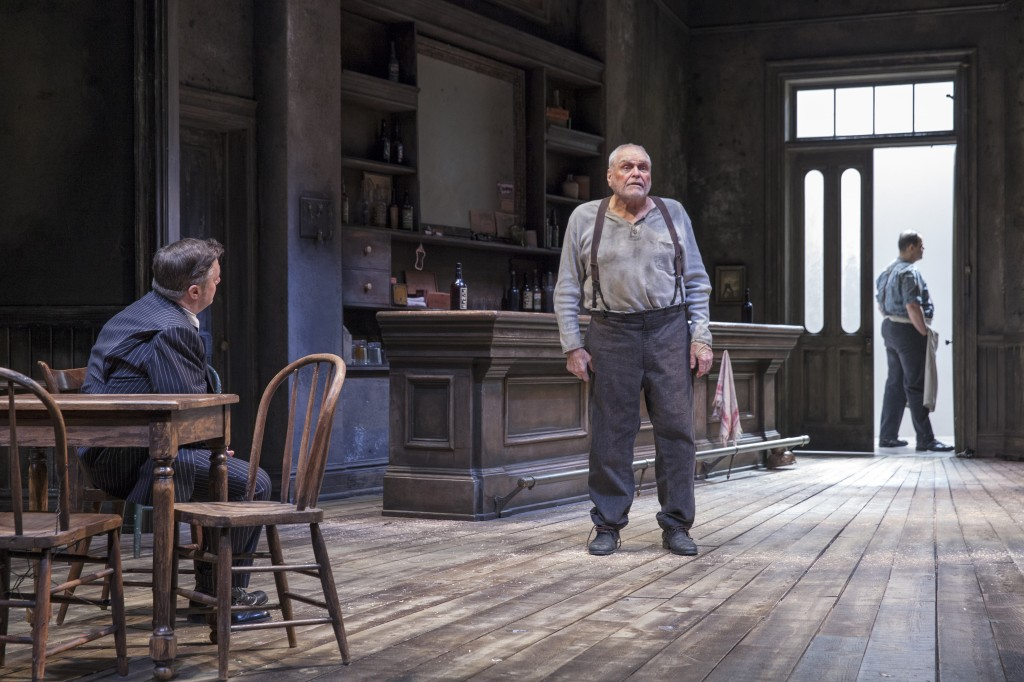 Nathan Lane, Brian Dennehy, and Salvatore Inzerillo in The Iceman Cometh Credit: Richard Termine