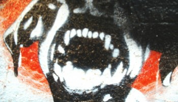 Angry Dog art. Photo by Feral78 under Creative Commons License.