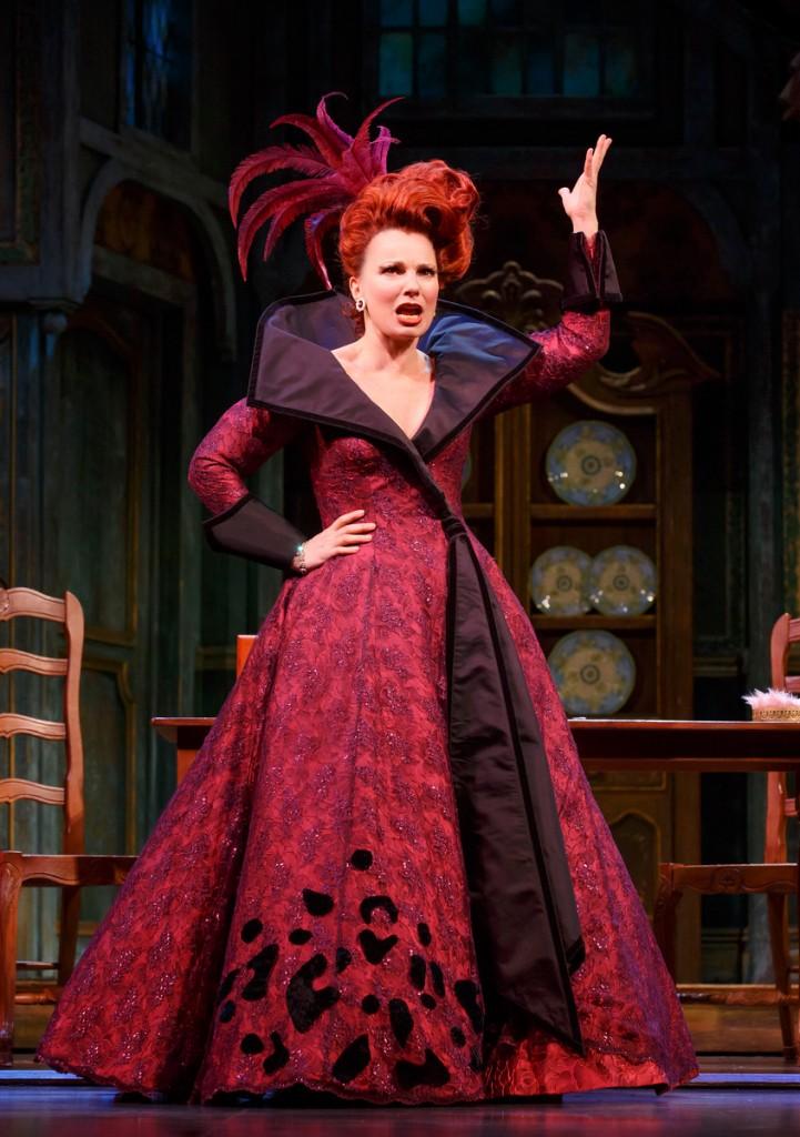 Fran Drescher as Madame, the evil stepmother...
