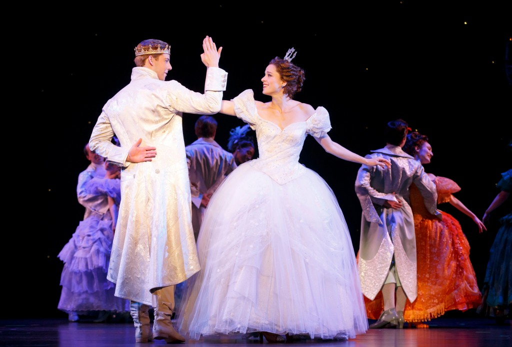 Andy Huntington Jones and Paige Faure in Rodgers + Hammerstein's Cinderella