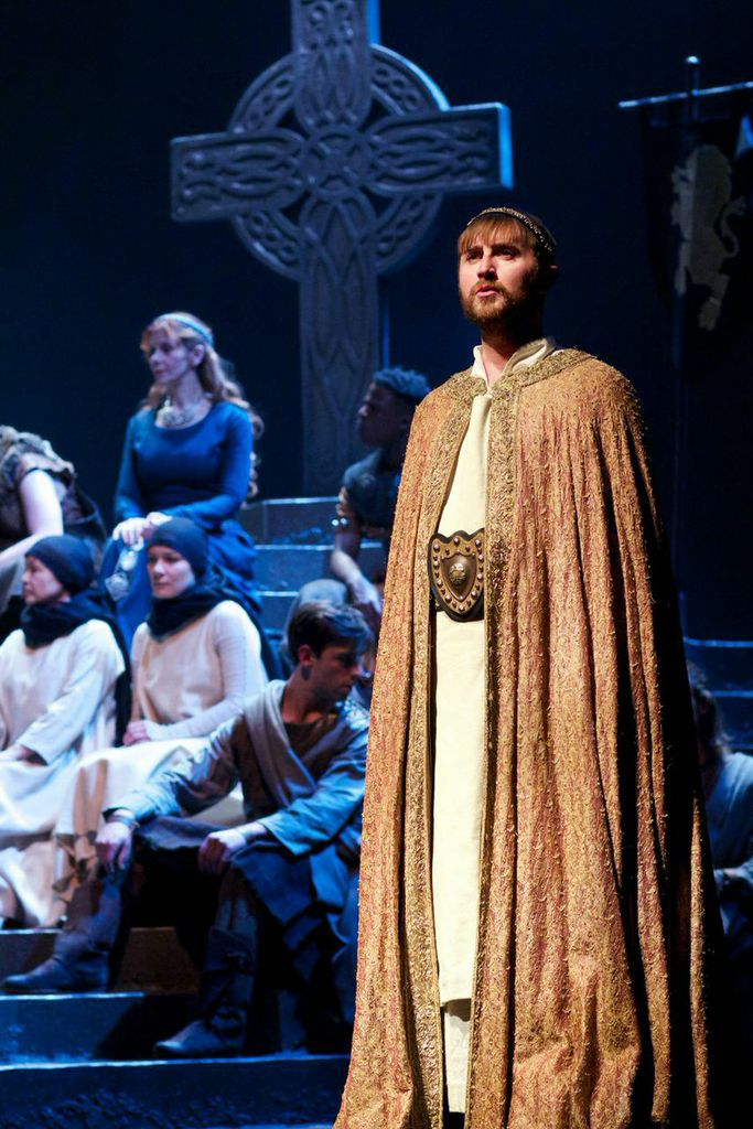 Ewan Donald as Malcolm  in Dunsinane.