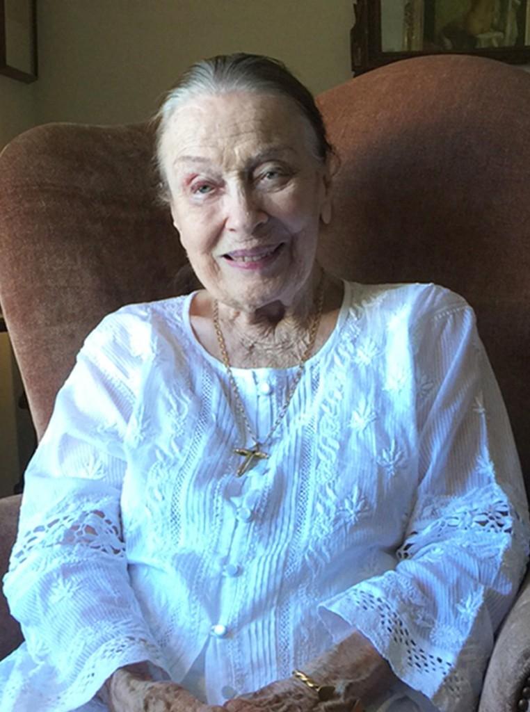 Patricia Morison at 100. Photo by Carol Summers.
