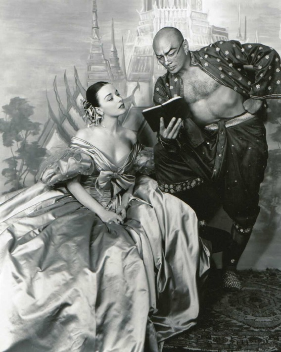 Patricia Morison and Yul Brynner in The King and I