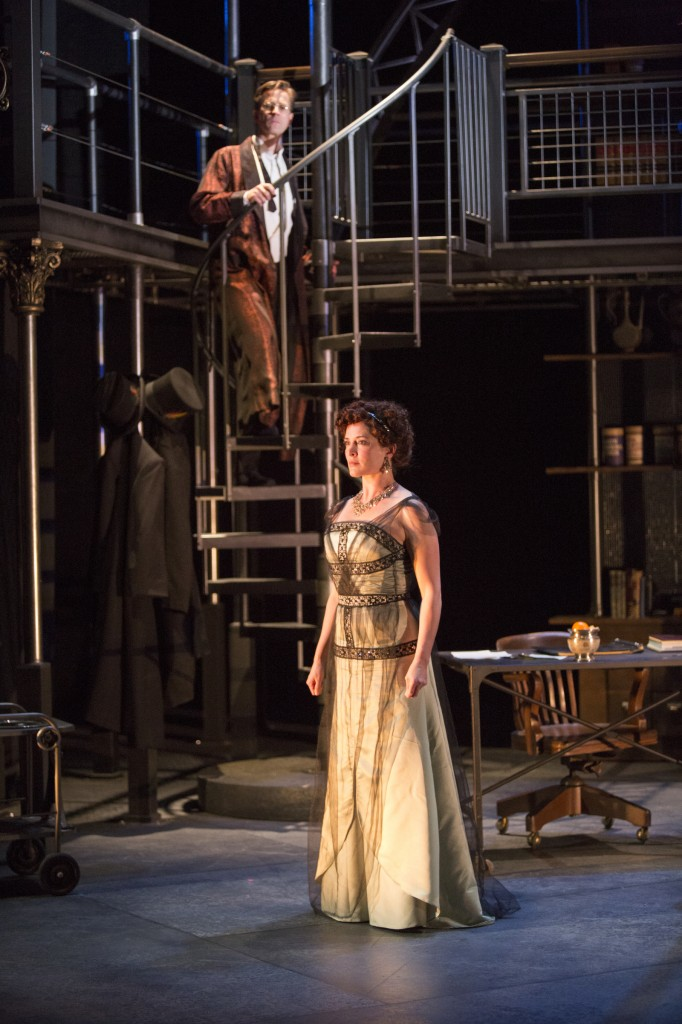 Bruce Turk and Paige Lindsey White in Pygmalion