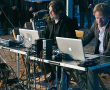 Dutch sound artists Rob van Rijswijk and Jeroen Strijbos
