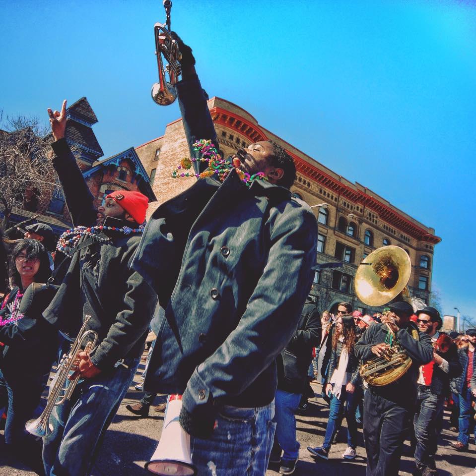 Marche du Nain Rouge 2015, Detroit, MI