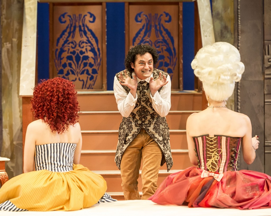 Figaro has to choose... in Charles Morey's Figaro.