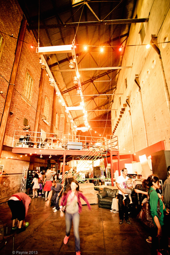The lively Brewery ArtWalk in 2013. Photo by Steve Payne
