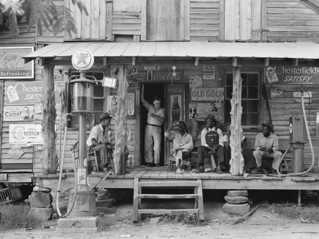 North Carolina country store during the Great Depression