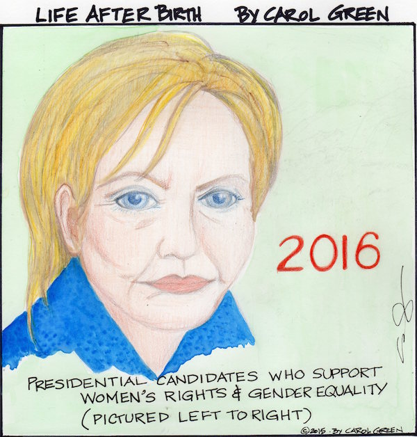 It's a race to the White House with Hillary not perfect but far ahead.