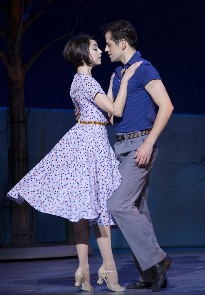 Leanne Cope and Robert Fairchild in An American in Paris  Credit: Angela Sterling