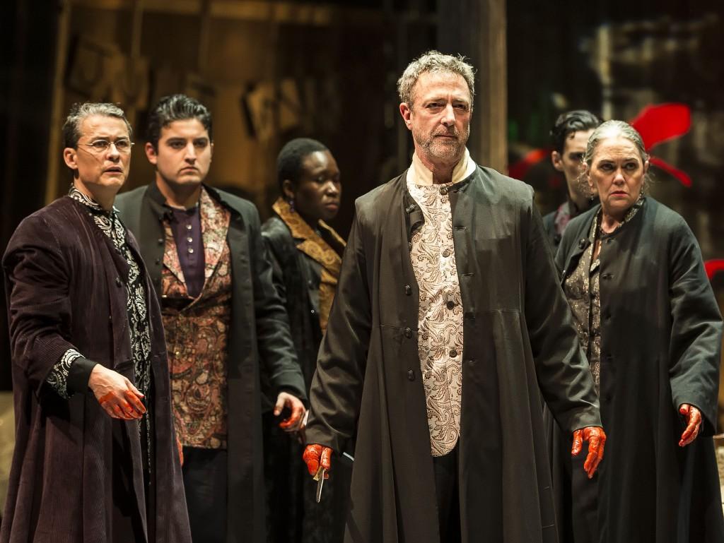 The cast of Julius Caesar .
