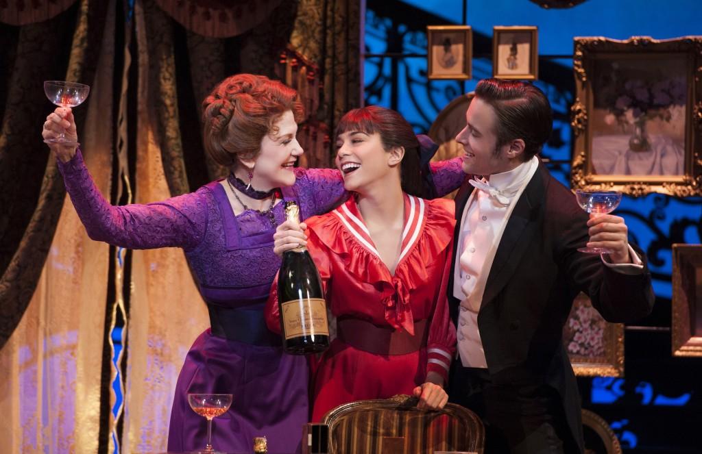 Victoria Clark, Vanessa Hudgens, and Corey Cott in Gigi Credit: Margot Schulman