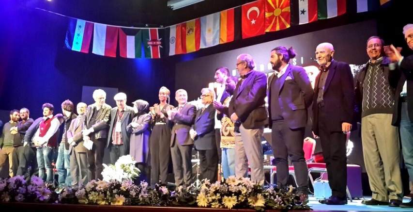 International poets take stage on the inaugural day of the Uskudar International Poetry Festival in Istanbul