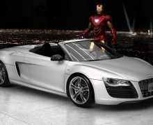 Ironman and Audi, together in marketing glory