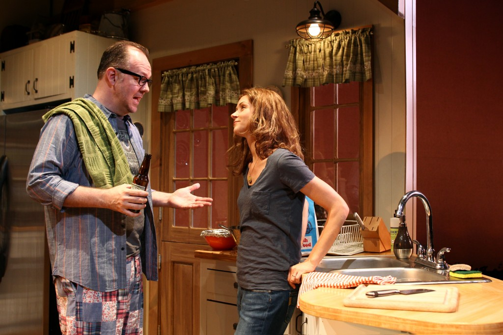 Rob Nagle and Melanie Lora in Of Good Stock.