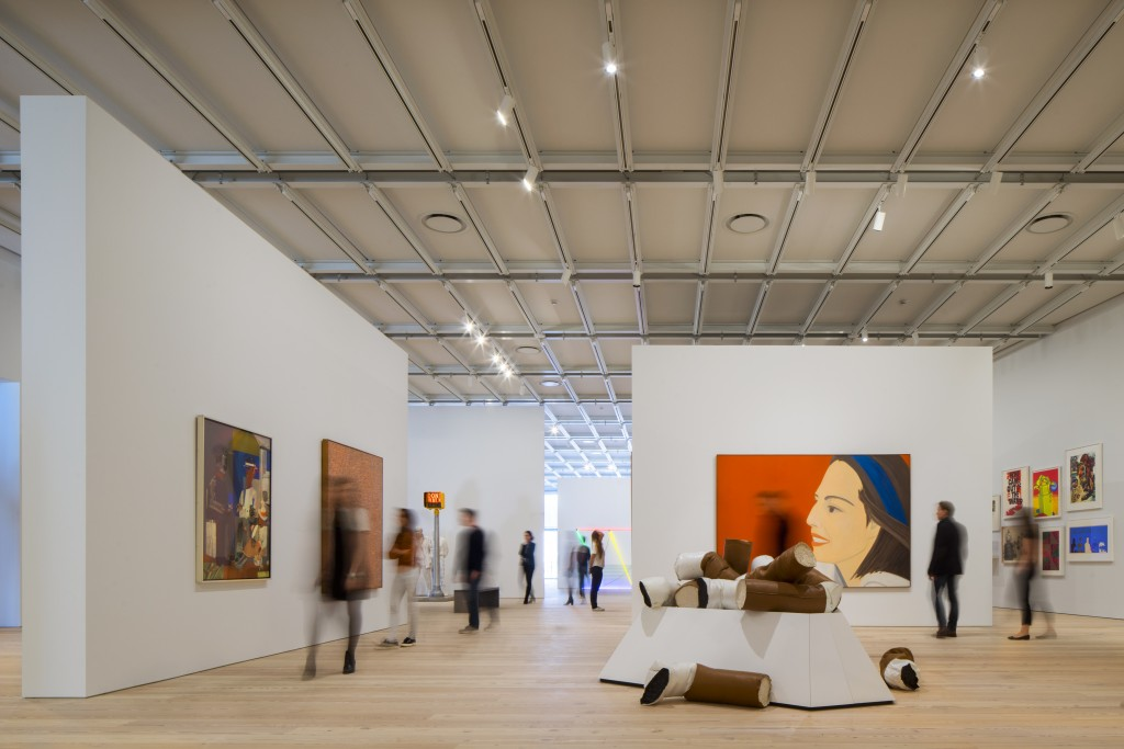 whitney museum gallery