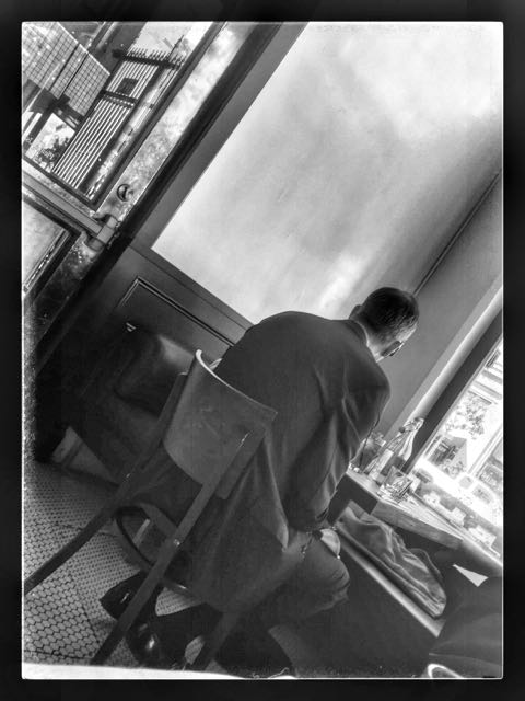 Ludlow lunch Hopperesque