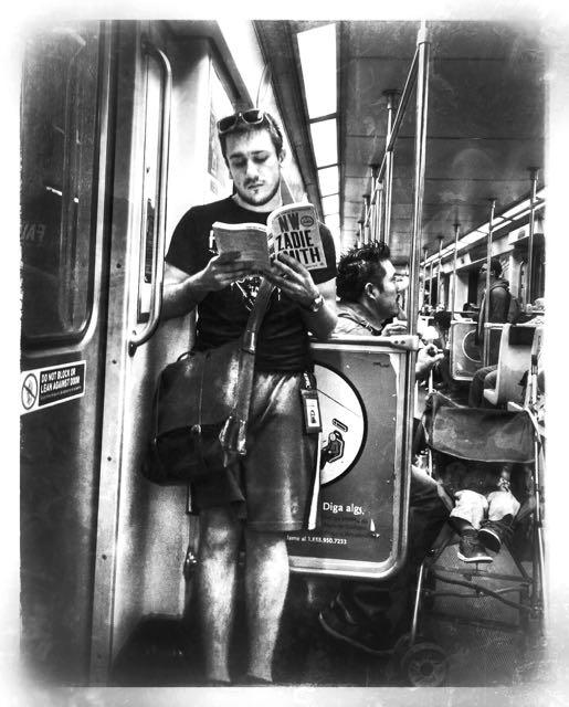 Reading Zadie Smith on the LA Metro