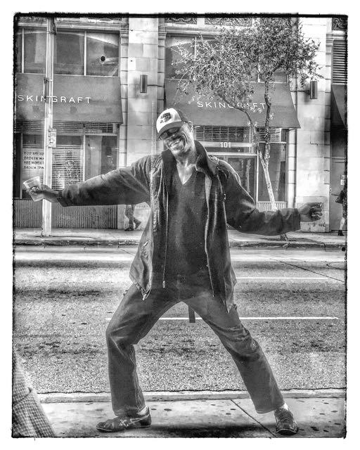 Homeless Man, Dancing DTLA