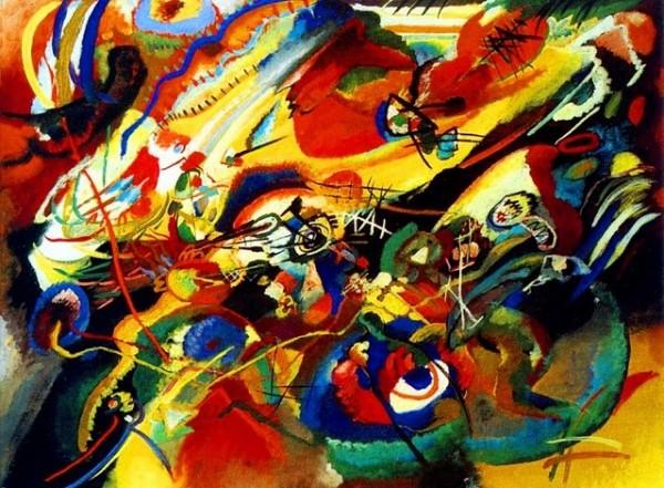 Kandinsky, Sketch for Composition VII, 1913