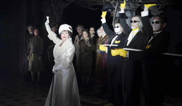 Chita Rivera and company in The Visit