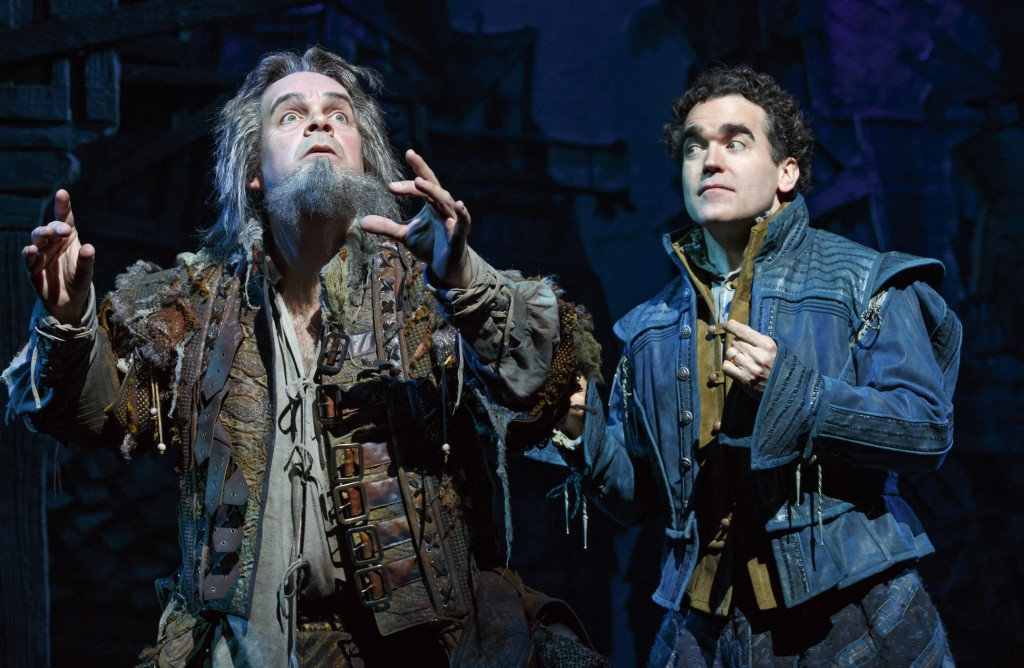 Brad Oscar and Brian d'Arcy James in Something Rotten! Credit: Joan Marcus