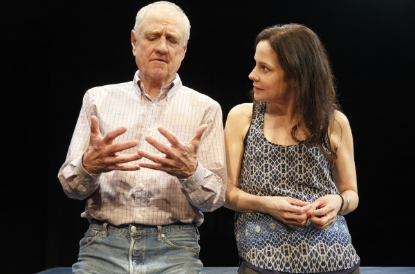 Denis Arndt and Mary-Louise Parker in Heisenberg Credit: Joan Marcus
