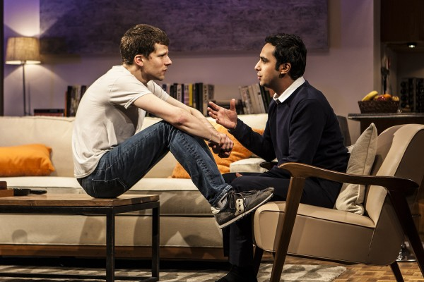 Jesse Eisenberg and Kunal Nayyar in The Spoils Credit: Monique Carboni