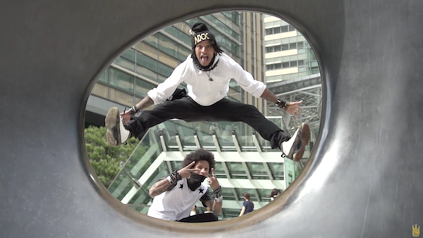 Les Twins in YLYK SUPER SLOW MOTION
