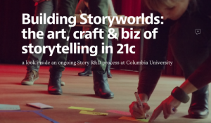 Innovator Lance Weiler co-founded The Digital Storytelling Lab at Columbia University to provide a home for Research & Development in the new evolution of storytelling.