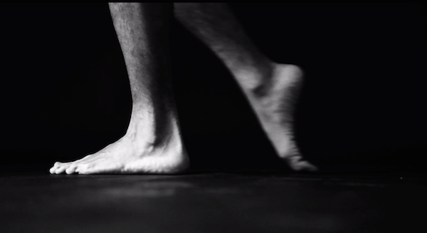 close up of a pair of bare feet