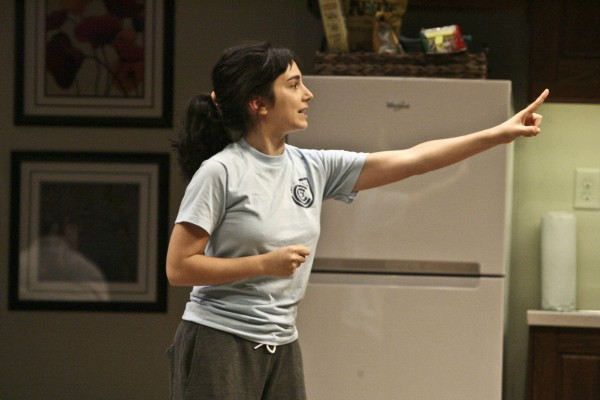 Molly Ephraim in Bad Jews at The Geffen.