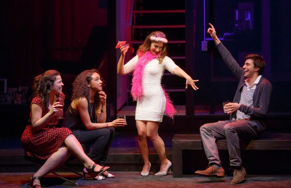 Lindsay Mendez, Carra Patterson, Sas Goldberg, and Gideon Glick in Significant Other Credit: Joan Marcus