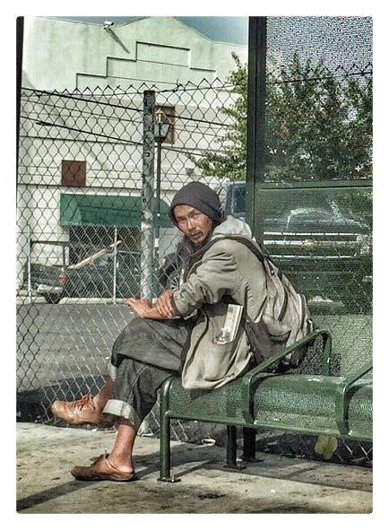 Homeless in Chinatown