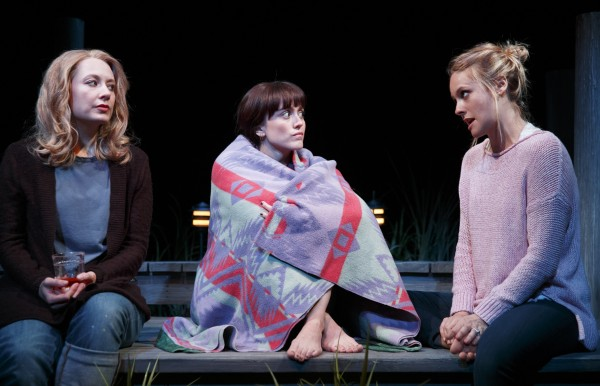 Jennifer Mudge, Heather Lind, and Alicia SIlverstone in Of Good Stock Credit: Joan Marcus