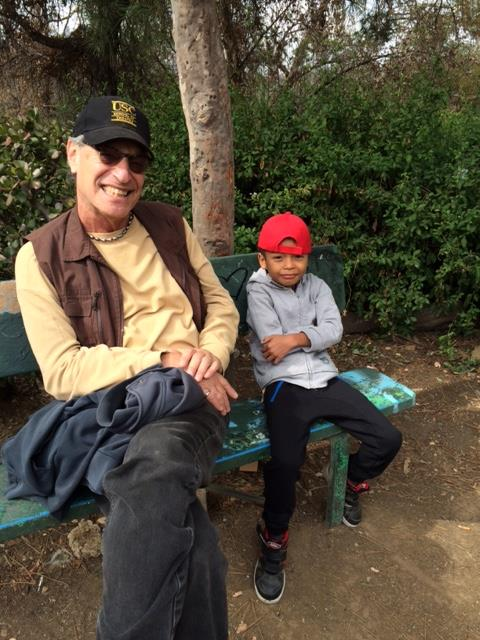 Elysian Park.Eric and Exsel Trules